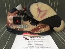 Authentic Air Jordan 5 GS Supreme Camo