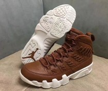 """Air Jordan 9 """"Baseball Glove"""" Brown"""