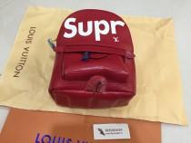 Red Small Supreme Bag