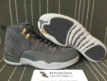 Air Jordan 12 Grey Suede