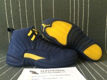 Authentic Air Jordan 12 Retro Michigan