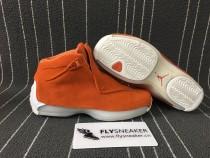 Air Jordan 18  orange