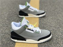 "Authentic Air Jordan 3s ""Chlorophyll"""