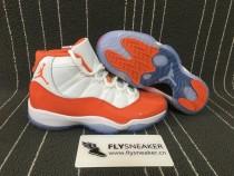 Authentic Air Jordan 11 orange