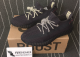 Authentoc Adidas Yeezy 350 Boost V2 Static Black NON-Reflective