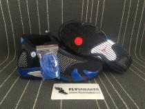 Authentic  Supreme x Air Jordan 14 black
