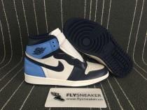 "Authentic Air Jordan 1 GS""Obsidian"" Nike Pair"