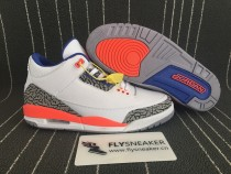 Authentic  Jordan 3s  Knicks