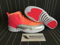 "Authentic Air Jordan 12  ""Hot Punch"""