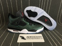 Authentic Air Jordan 4 Lake Green