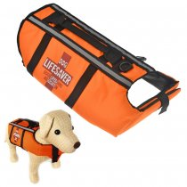 Pet Dog Cat Life Saver Life Jacket Size Medium