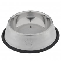 220mm Stainless Steel Food Feeder Dish Serving Bowl Water Container for Cat Dog Pet Caring Item