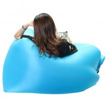 IPRee™ Outdoor Mini Square-Headed Lazy Seat Couch Sofa Fast Air Inflatable Camping Travel Beach Sleeping Laybag For Adult Children
