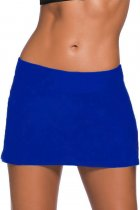 Royal Blue Skirted Swim Bikini Bottom