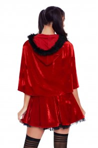 Little Red Damsel Christmas Costume