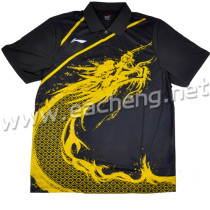 LINING AAYG312-2 Table Tennis T-shirt  black size: 2XL