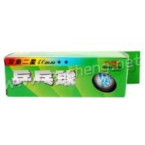 Double Fish 2-star 40mm Table Tennis Ball 3 balls/each box