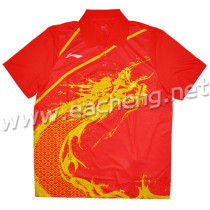 LINING AAYG312-1 Table Tennis T-shirt  red size: 3XL