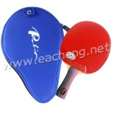 Palio 3-STAR Pips-In Table Tennis Racket with Case