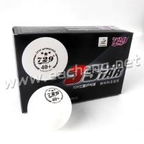 6x RITC729 3 Star 40+ New Materials White Table Tennis Ball