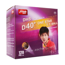 120 PCS DHS 1-Star D40+ Table Tennis Balls