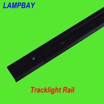 Rail for track lights two wires 1 meter 2 meter white and black available