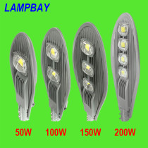 LED Street Lights 50W 100W 150W 200W 90lm/w 110V/220V IP65 Waterproof Outdoor Lighting Road Lamp