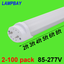 LED Tube Bulb 2ft 3ft 4ft 5ft 6ft Retrofit Fluorescent Light 0.6m 0.9m 1.2m 1.5m 1.8m T8 G13 Bar Lamp 24  36  48  60  70