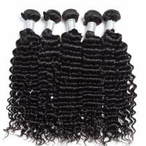 500g Cheap Brazilian Deep Curl Virgin Hair