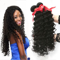Cheap Good Quality Malaysian Deep Curly Hair Weave