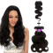 2017 New Product Indian Body Hair Weave + Closure