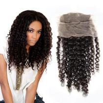 Beauty Peruvian Virgin Kinky Curl Lace Closure Hair