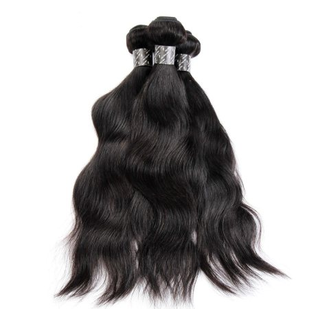 Cheap Brazilian Natural Wave Hair 3 bundles