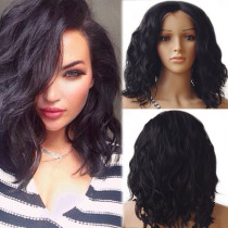 Affordable  Full Lace Wig Brazilian natural  wave
