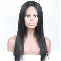 Cheap Good Quality Full Lace Wig Peruvian Silky Striaght