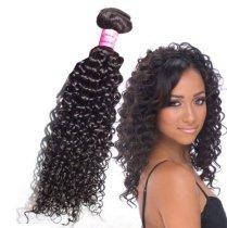 Fashion  Peruvian Curly  Wave Virgin Hair 1pc