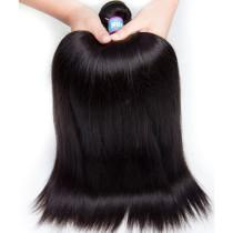1pc Brazilian Silky Straight Virgin Hair 100g
