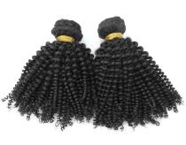 Best Price  Malaysian Kinky Curl Virgin Hair 2pcs
