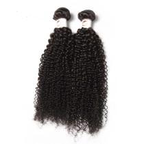 2pcs Indian Kinky Curl  Virgin Hair