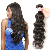 Beauty Mongolian Natural Wave Virgin Hair Weave 100g