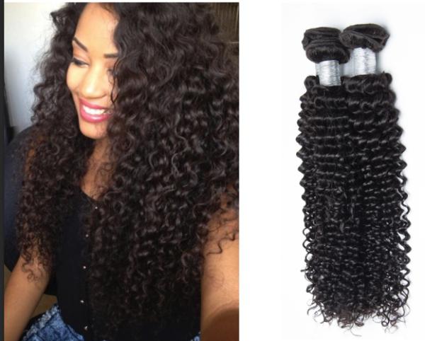 200g Cheap Mongolian Deep Wave Virgin Hair Weave