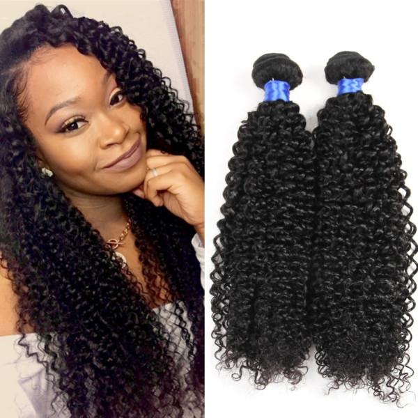 Popular Mongolian Kinky Curl Virgin Hair 200g