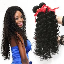 Various virgin human hair weavinglace closurewigs online for cheap good quality malaysian deep curly hair weave pmusecretfo Gallery