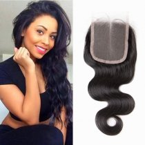 Indian Virgin Body Wave Lace Closure Hair
