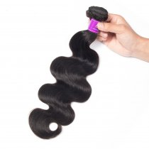 Popular Malaysian Body Wave Virgin Hair 100g