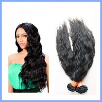 2pcs Quality Bazilian Natural Wave Virgin Hair 200g