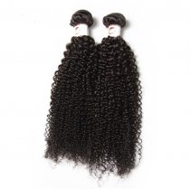 2pcs Indian Kinky Curl  Virgin Hair