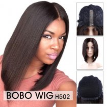 Full Lace BOB Fashionable Wig  Silky Straight