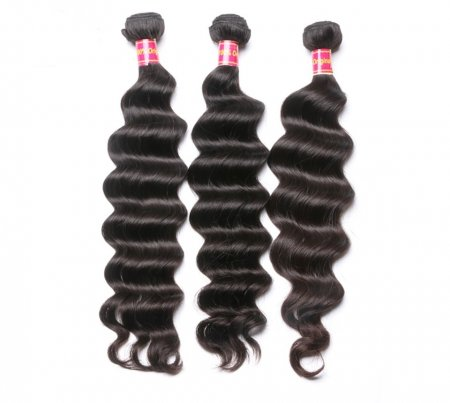 Unique Beauty Style Peruvian Deep Wave Hair