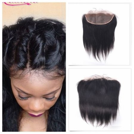 Peruvian Ear-to-Ear Virgin Silky Straight Lace Closure Hair